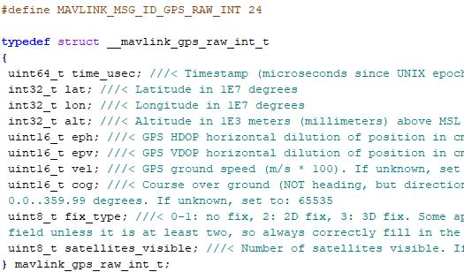 Understanding the Arduino Mavlink library | LoCARB